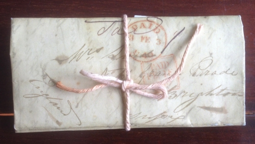George Lind letter tied